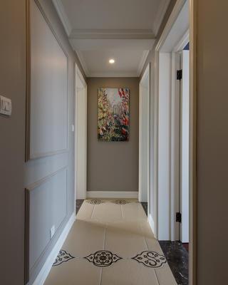 150平美式风装修走廊图片