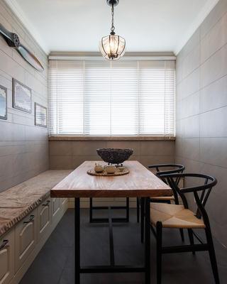 150平美式风装修茶室布置图
