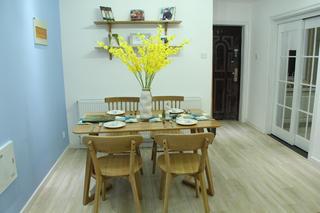 二居室北欧风格家餐桌椅图片