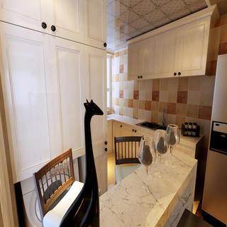 100㎡現代簡約風裝修櫥柜圖片