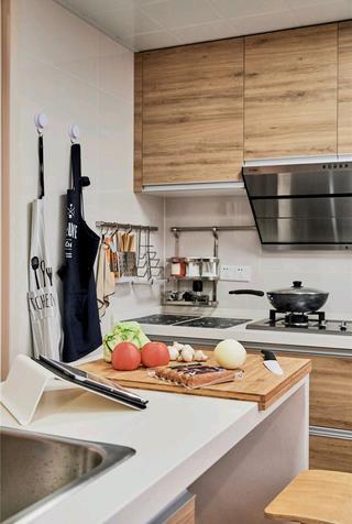 120平北欧风之家厨房图片
