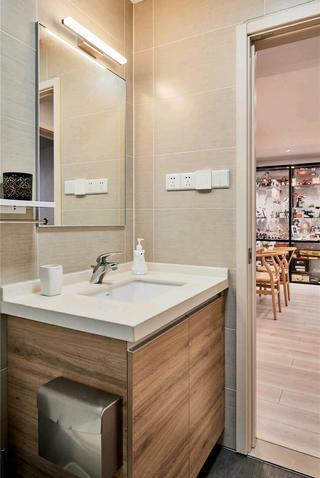 120平北欧风之家洗手台图片