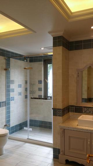 欧式别墅装修淋浴房图片