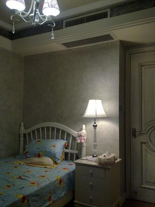 美式三居室装修儿童房设计图