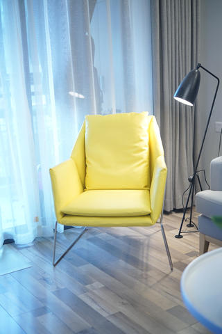 二居室北欧风格家单人沙发图片