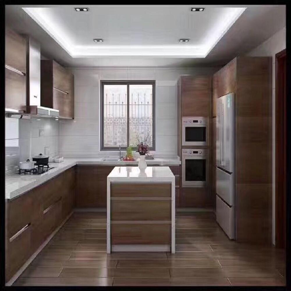 混搭三居装修厨房效果图