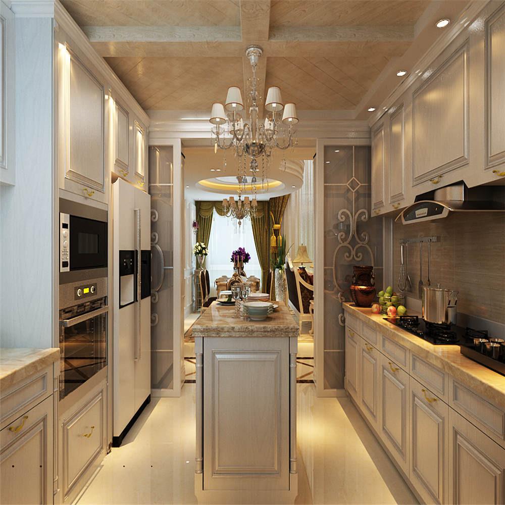 欧式复式装修厨房吊顶图