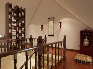 中式四房装修阁楼布置图