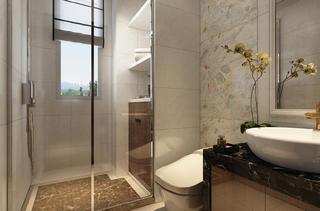 新中式三居装修卫生间设计图