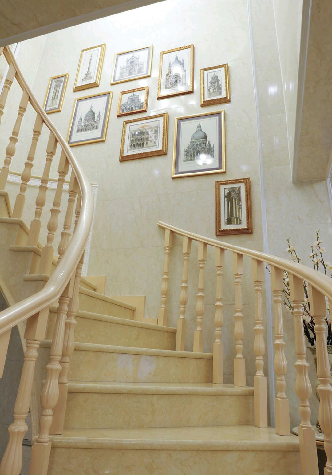 法式复式装修楼梯图片