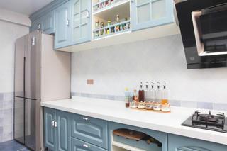 110㎡地中海风格装修厨房图片
