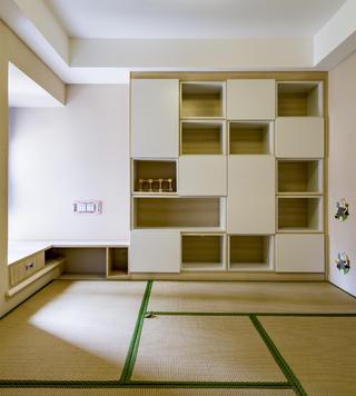 110平北欧风装修书房设计图