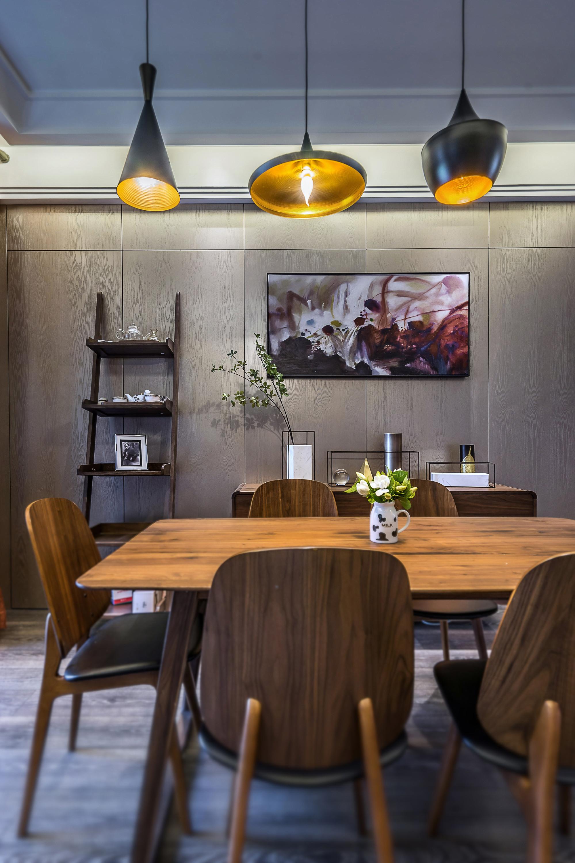 168平现代简约家餐桌椅图片