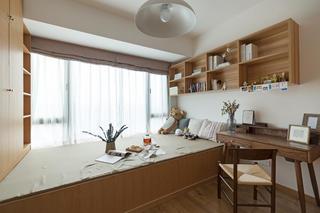 北欧三居装修书房设计图