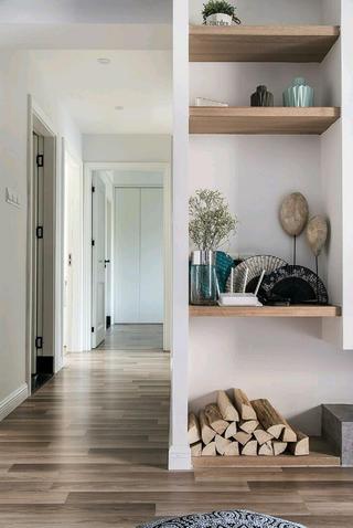 110平北欧风格装修走廊图片