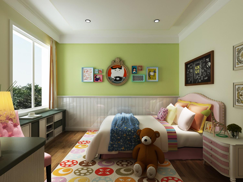 四居室简约风格装修次卧效果图