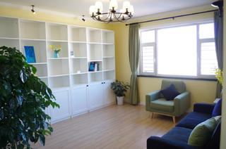 110㎡简约三居装修客厅图片