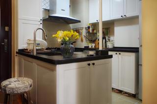 47㎡美式温馨小家装修料理台图片