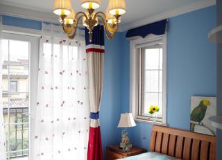 美式三居室装修儿童房图片