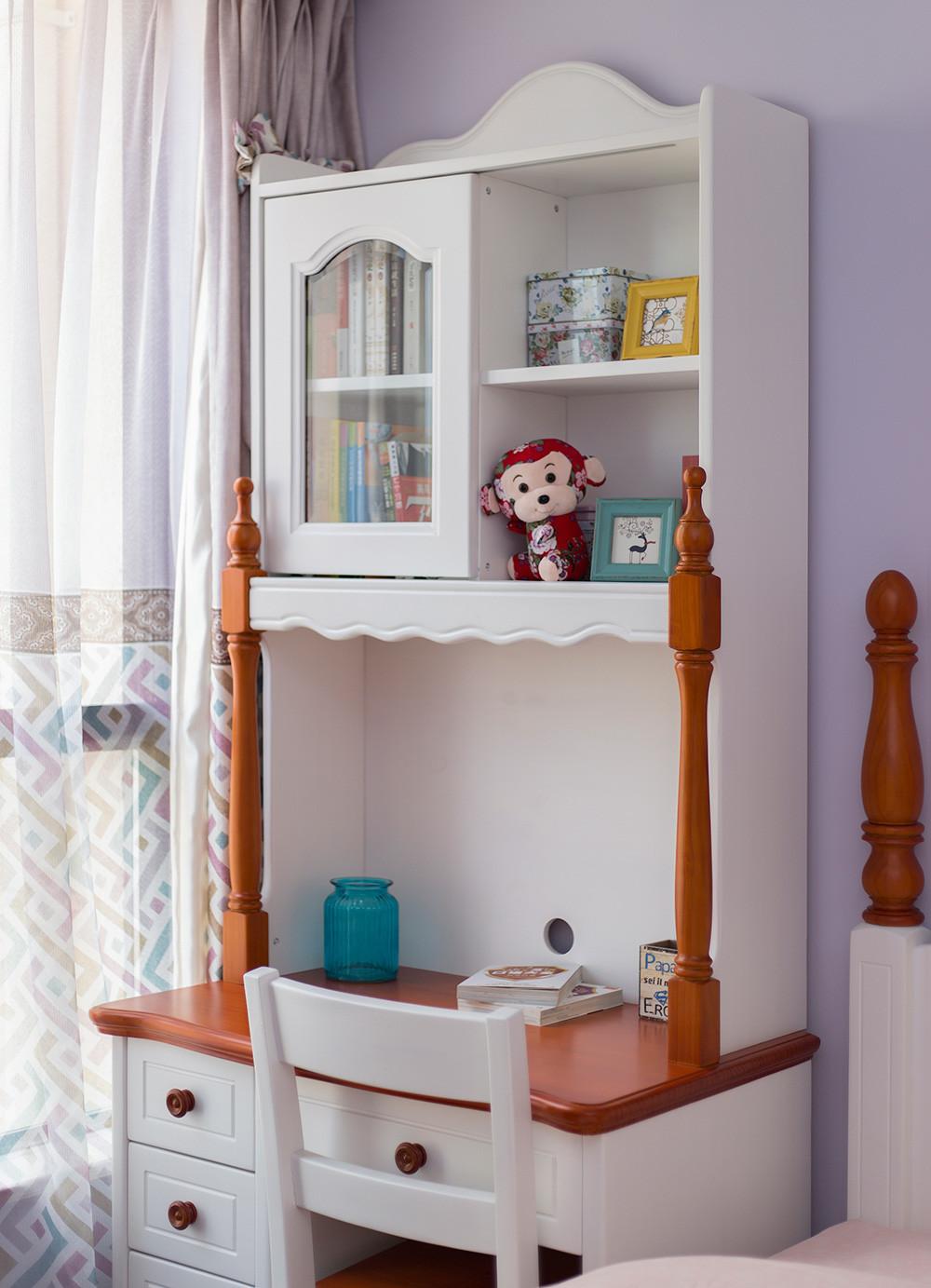 三居室美式风格家书桌台图片