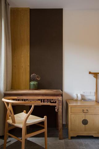 复古民宿装修桌椅摆件图片