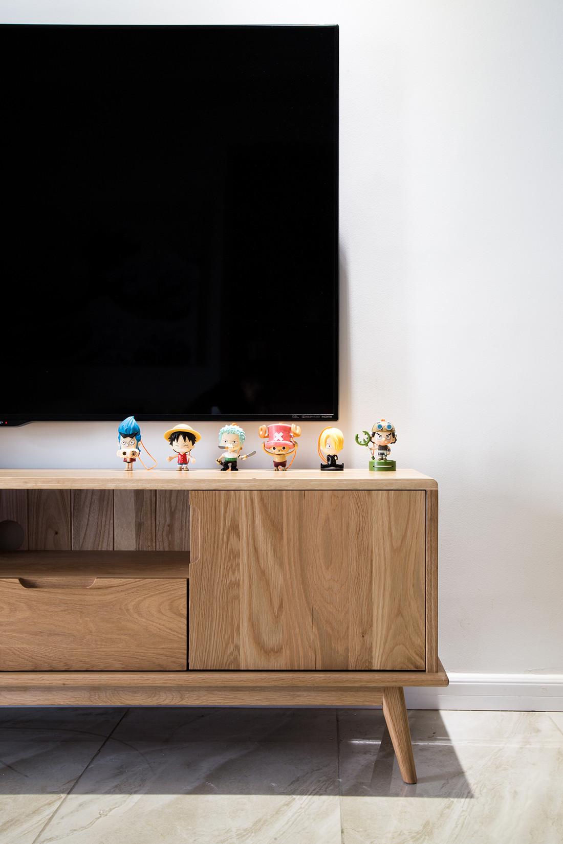二居室日式风格家电视柜图片