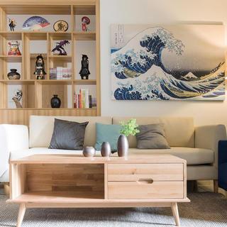 二居室日式风格家 轻漫和风