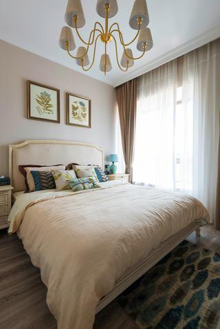 复式美式风格装修卧室效果图