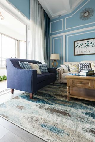 复式美式风格装修沙发图片