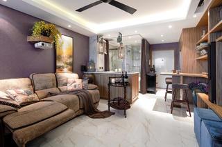 40平小户型装修沙发背景墙图片