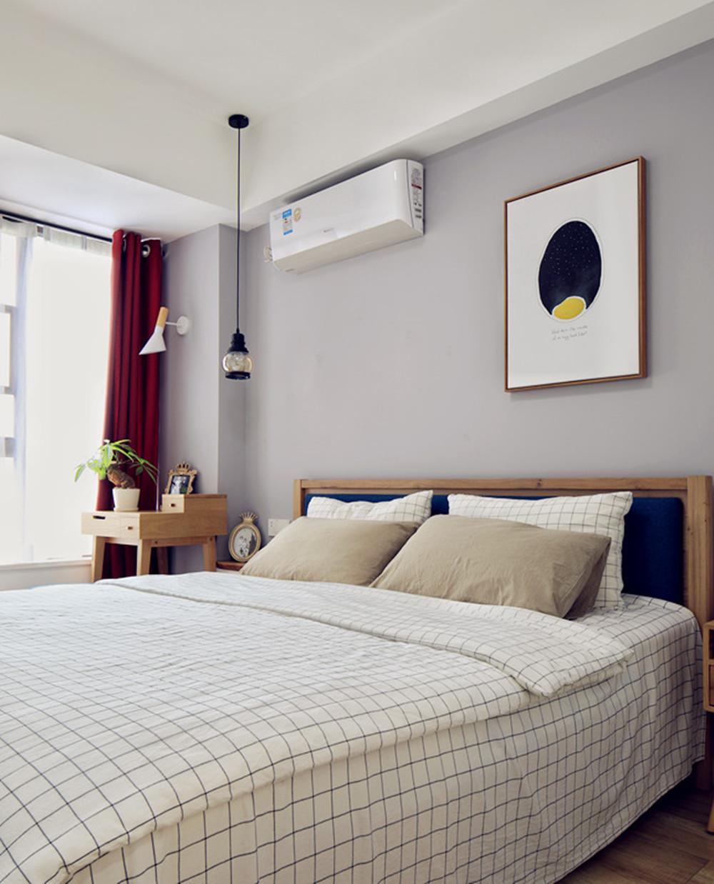 北欧二居装修卧室设计图