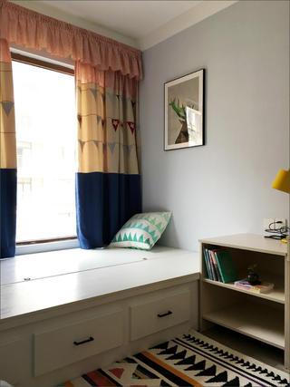 110㎡三居室裝修兒童房榻榻米設計