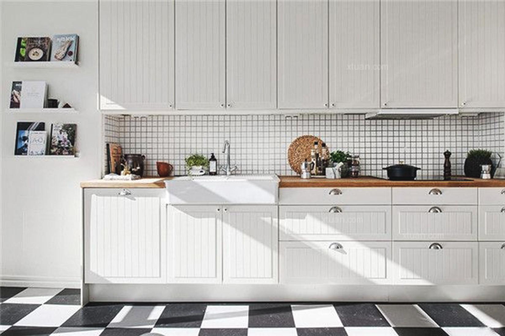 三居室北欧之家厨房效果图