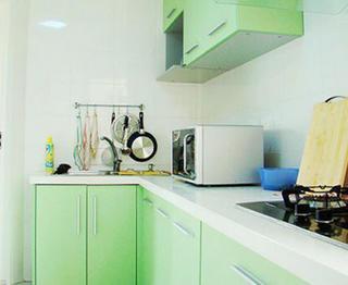 120平現代簡約家櫥柜圖片
