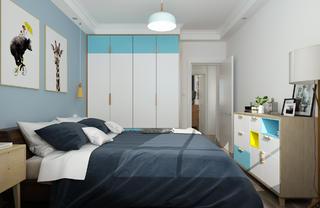北欧二居室装修衣柜图片
