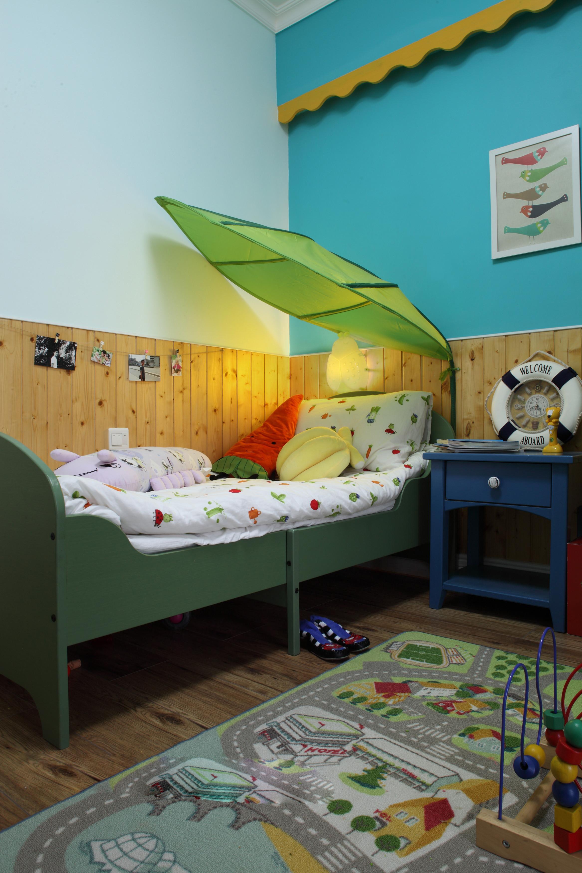 110㎡二居室装修儿童床图片