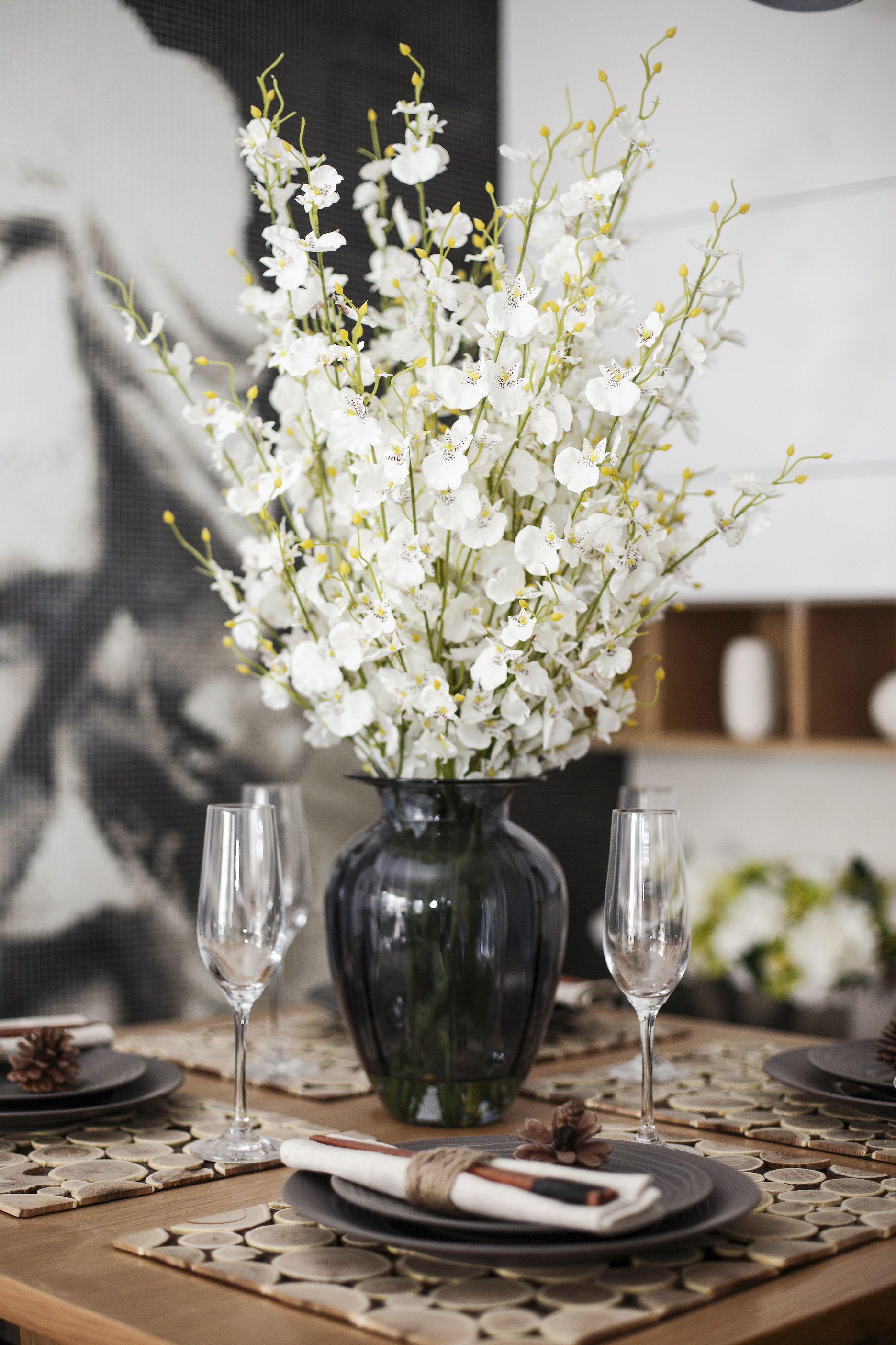 110㎡简约装修装饰花瓶图片