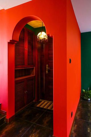 157平东南亚风格装修门厅设计图
