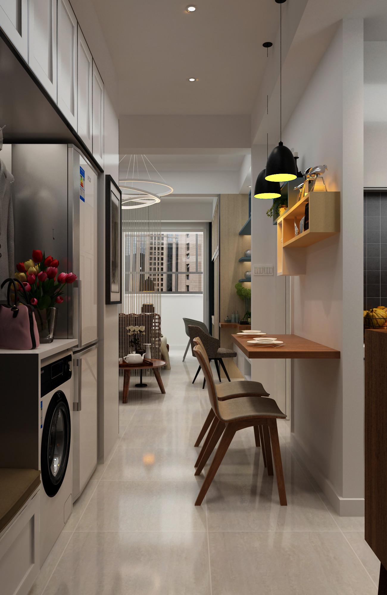 一居室小户型装修餐厅效果图