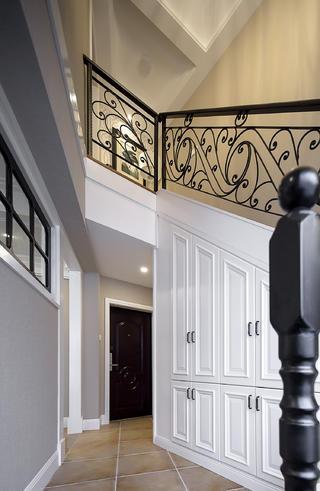 大户型美式风格家楼梯间设计图