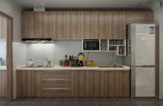 現代簡約三居裝修櫥柜圖片