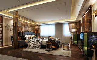 新古典别墅装修卧室效果图