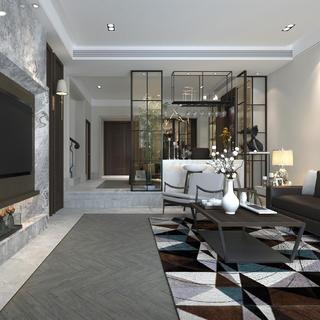现代简约别墅装修 精致有质感