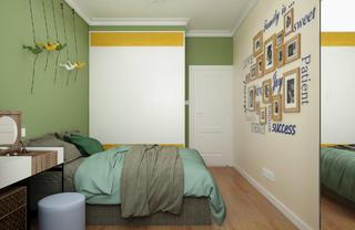 三居室现代简约之家照片墙图片