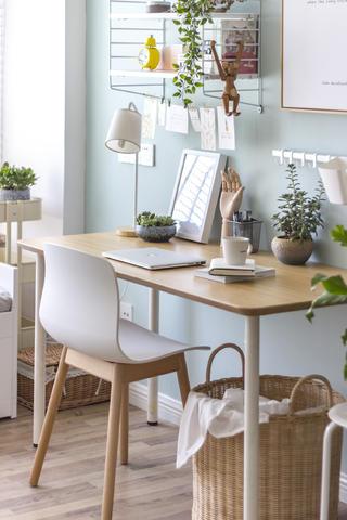 93平北欧风格家书桌图片