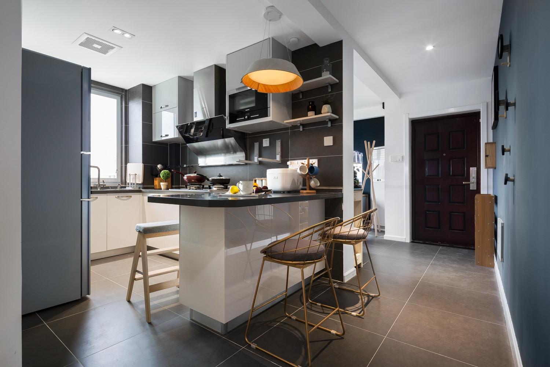 二居室北欧之家厨房效果图