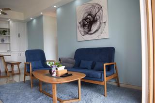 110平北欧风格装修沙发图片