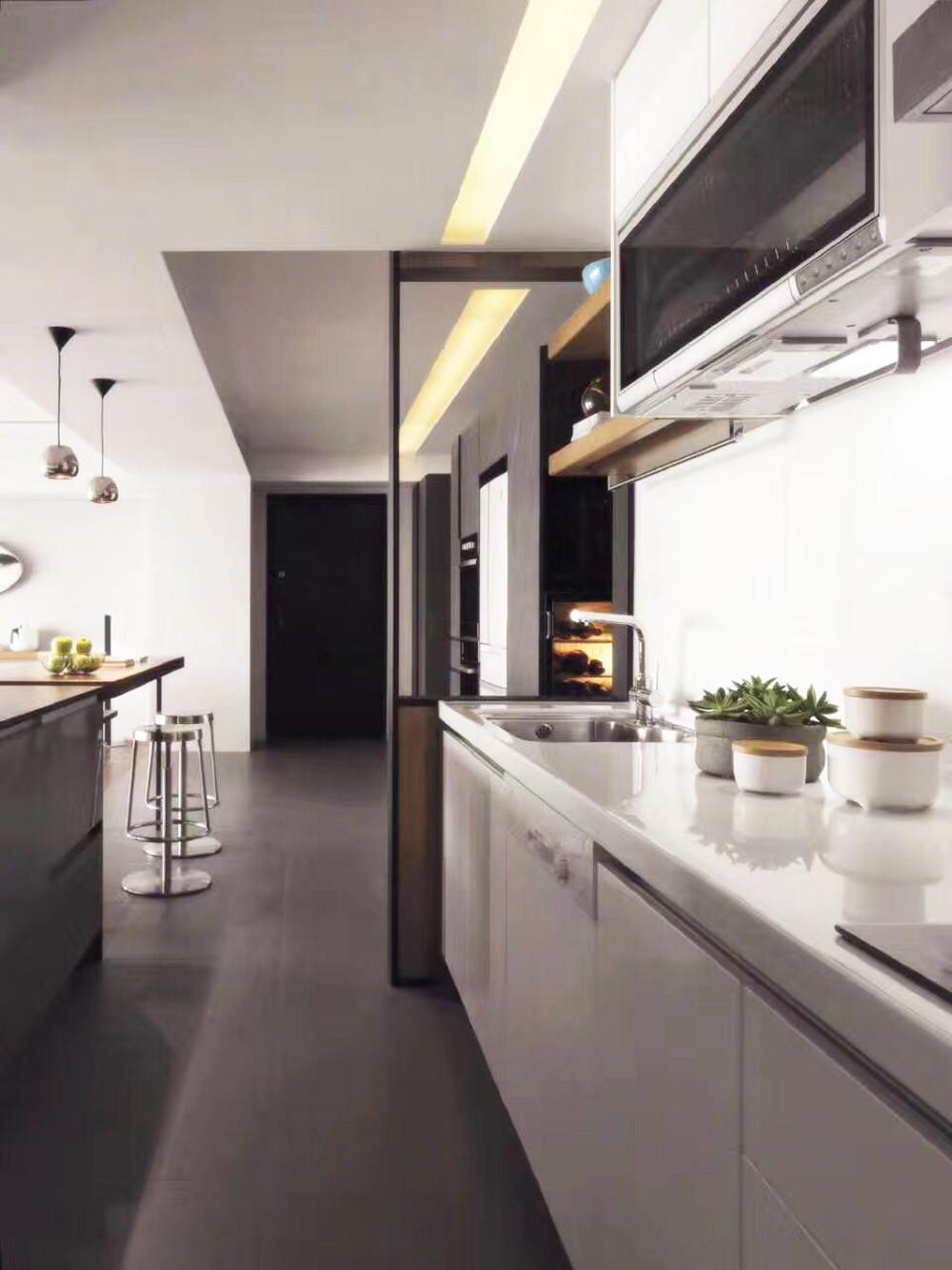 简约二居室之家厨房设计图