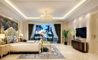 290平法式装修卧室效果图