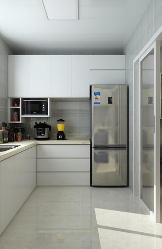 三居室現代簡約設計櫥柜圖片